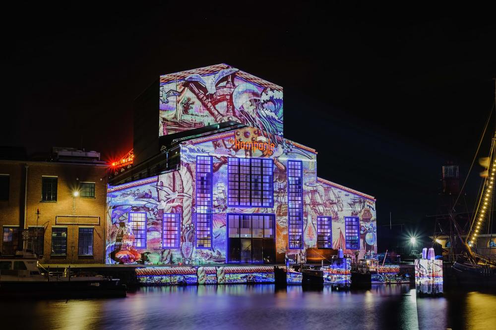 The Netherlands, Den Helder, Theater De Kampanje