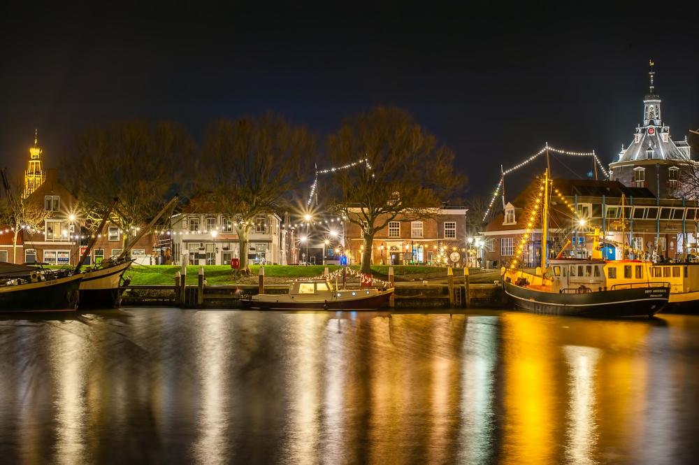 The Netherlands, Enkhuizen, Buitenhaven