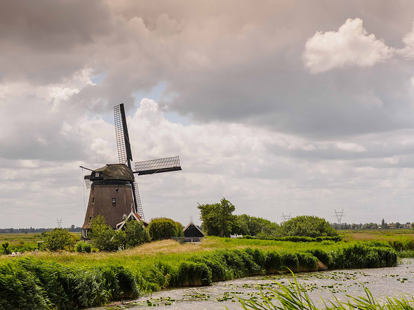 The Netherlands, Grootschermer, molen  'De Havik'
