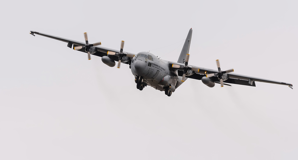 Lockheed C-130H Hercules Willem den Toom