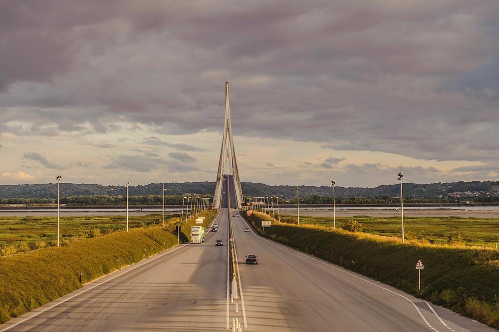 France,  Le pont de Normandie