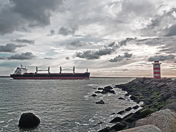 The Netherlands, Wijk aan Zee, North Sea
