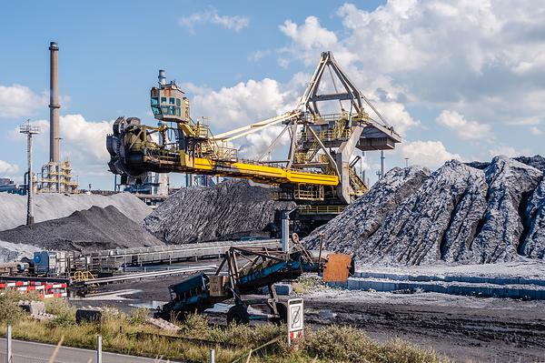The Netherlands,  IJmuiden, Tata Steel