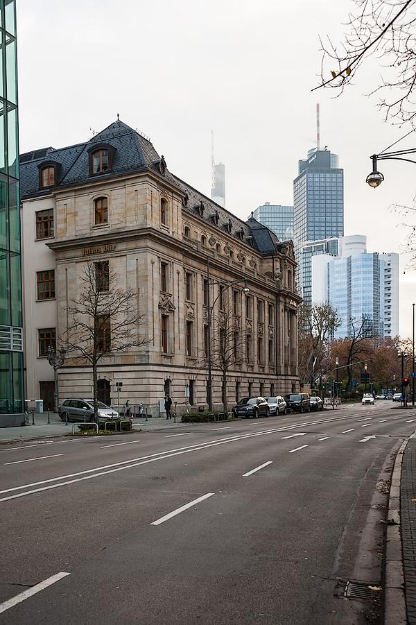 Germany, Frankfurt am Main, Alte Oper, Reuterweg