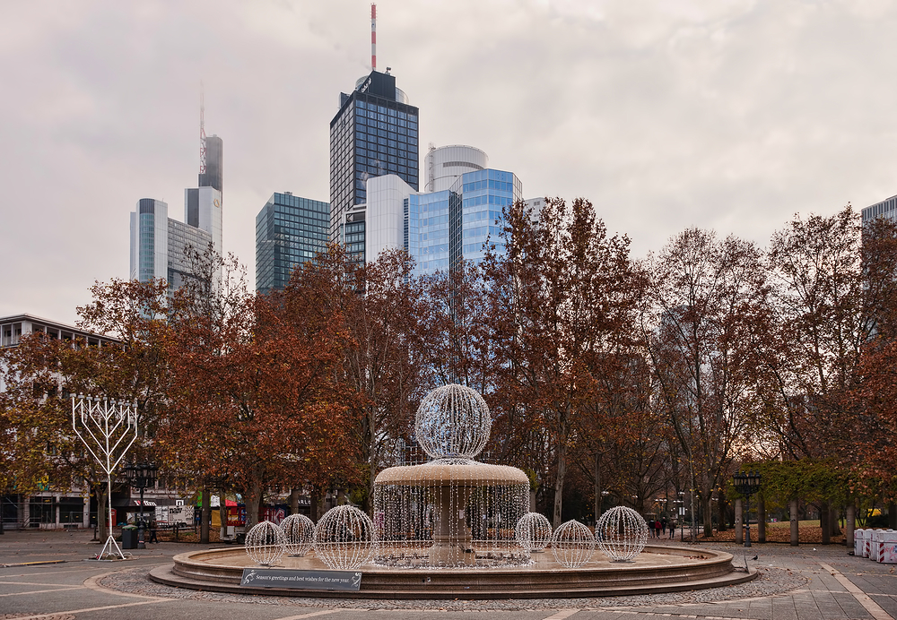 Germany, Frankfurt am Main,  Opernplatz 1/2