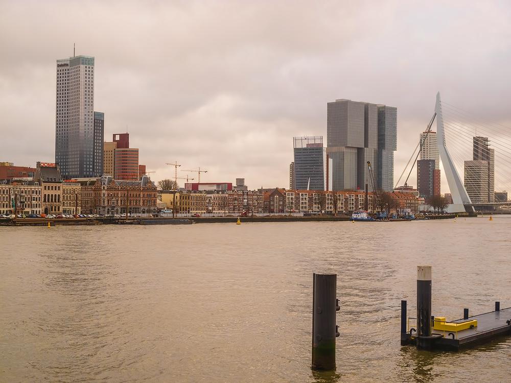 The Netherlands, Rotterdam, Nieuwe Maas