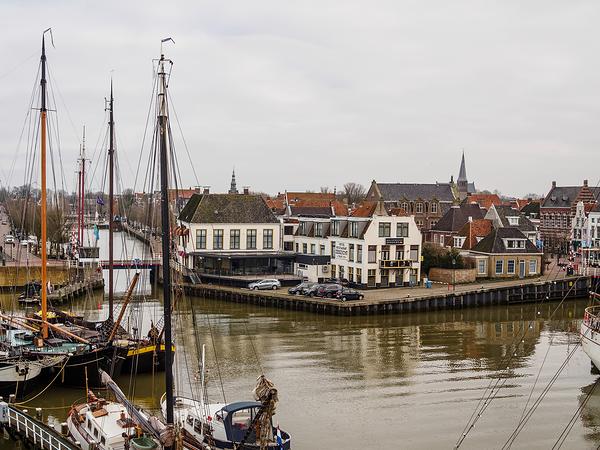 The Netherlands, Harlingen, Oude Buitenhaven