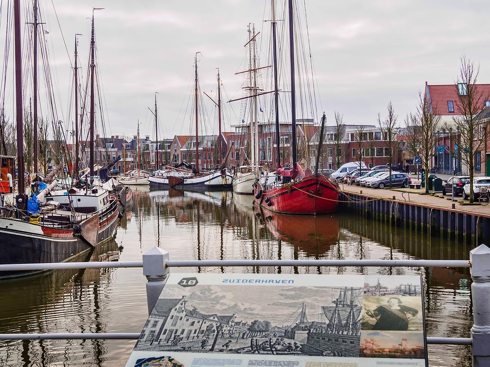 The Netherlands, Harlingen, Zuiderhaven