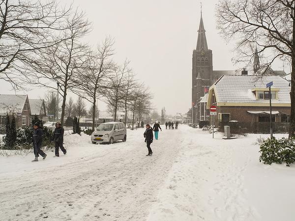 The Netherlands, Noord-Scharwoude, Dorpsstraat
