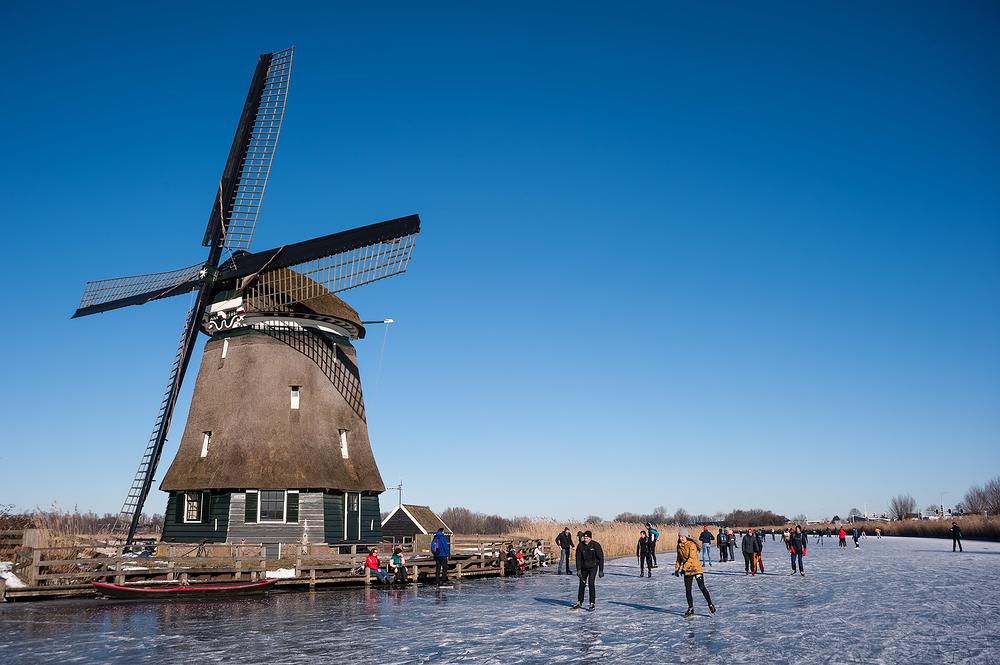The Netherlands, Broek op Langedijk, Molen D