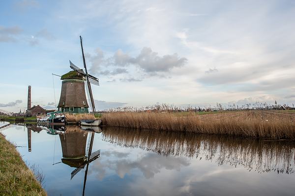 The Netherlands, Spanbroek, De Kaagmolen