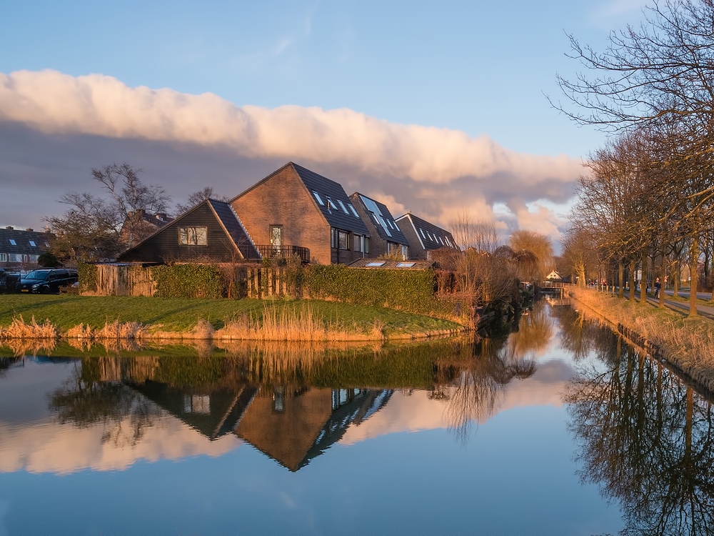 The Netherlands, Zuid-Scharwoude, Geestweg