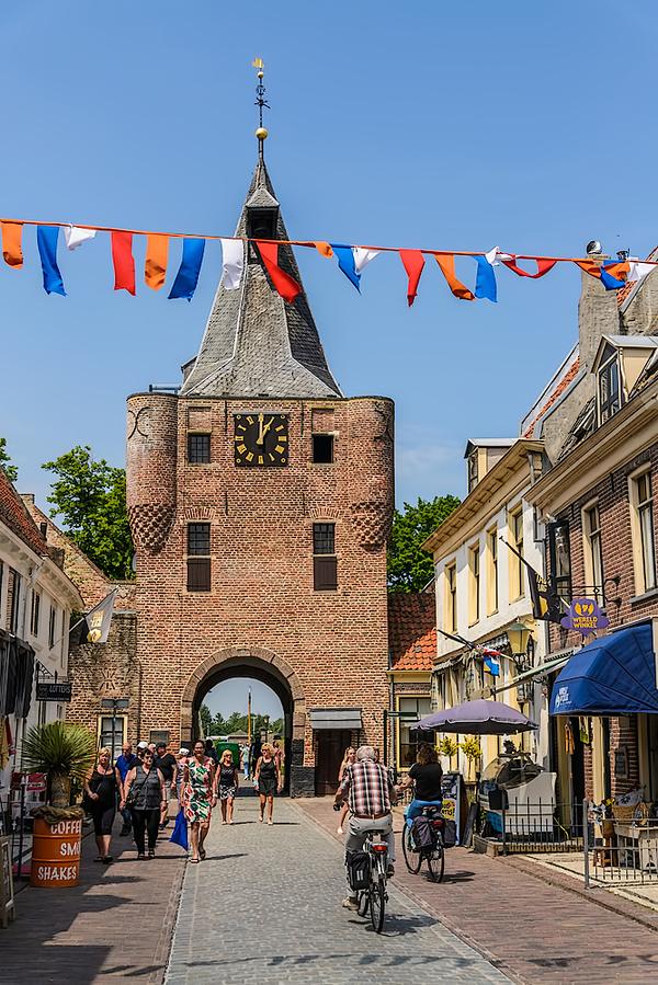 The Netherlands, Elburg, De Vischpoort