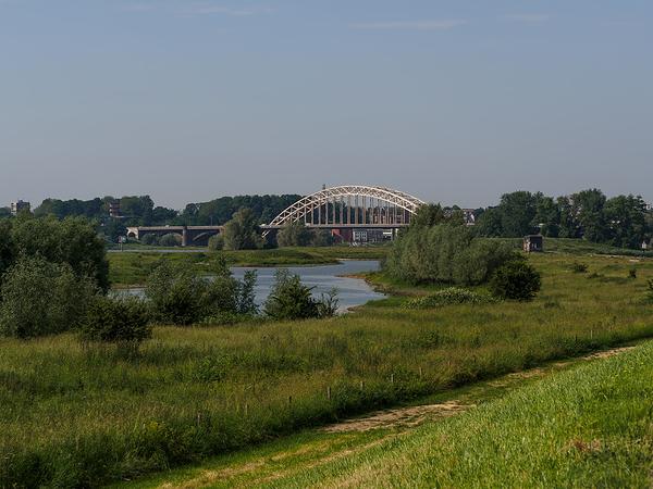 The Netherlands,  Nijmegen, De Waalbrug