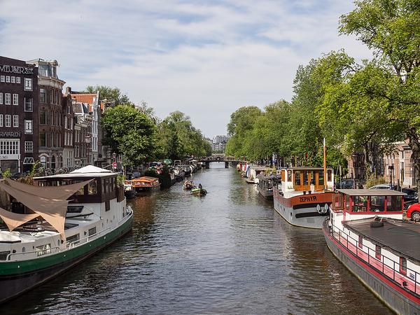 The Netherlands, Amsterdam, Prinsengracht