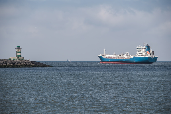 The Netherlands,  IJmuiden, Zuidpier