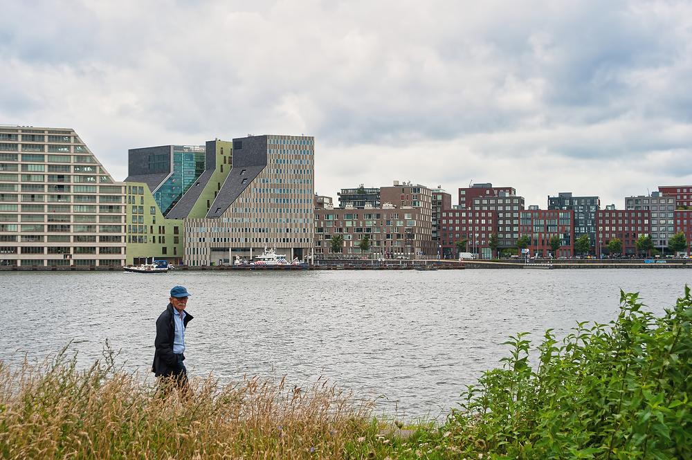 The Netherlands, Amsterdam, het IJ