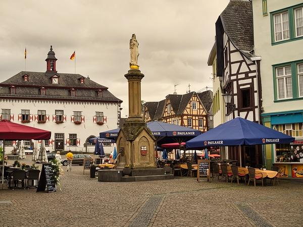 Germany, Linz am Rhein, Marktplatz