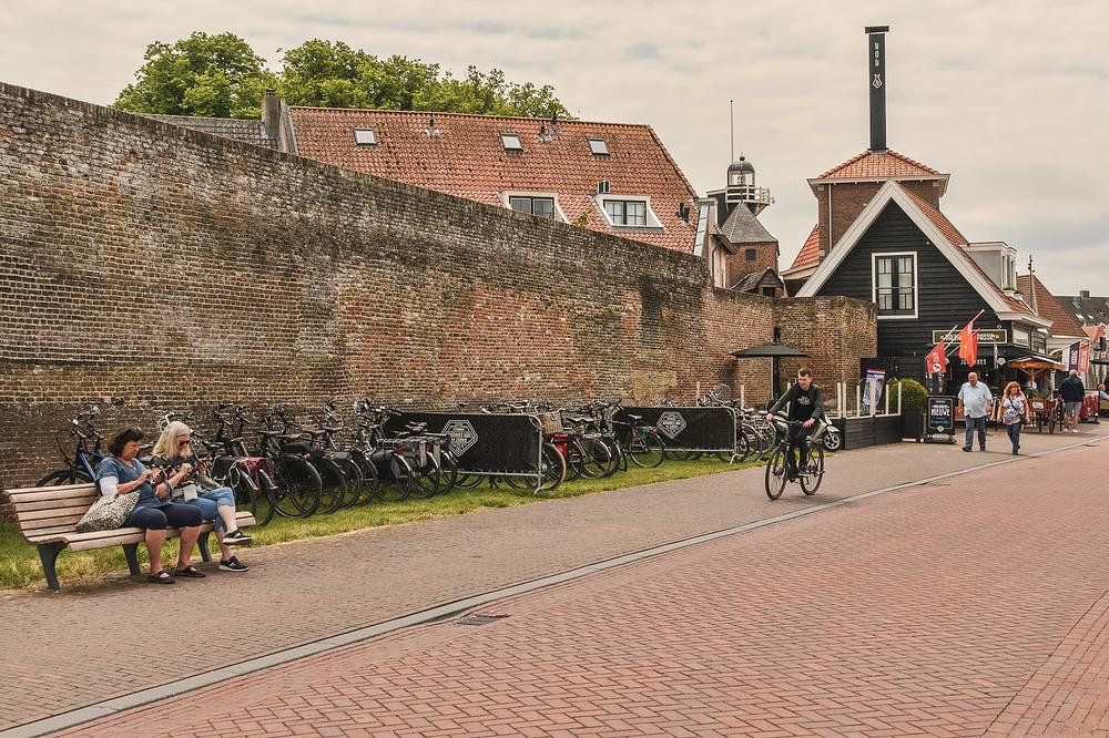 The Netherlands, Harderwijk, Strandboulevard