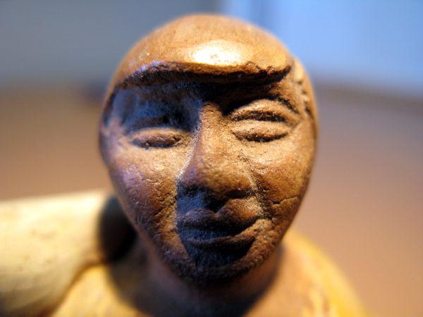 pottery head hoofd