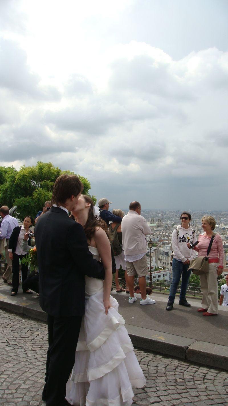 wedding in Paris, Paris je'taime