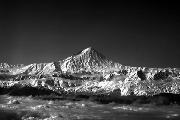 Damavand mountain (mt demavenad)
