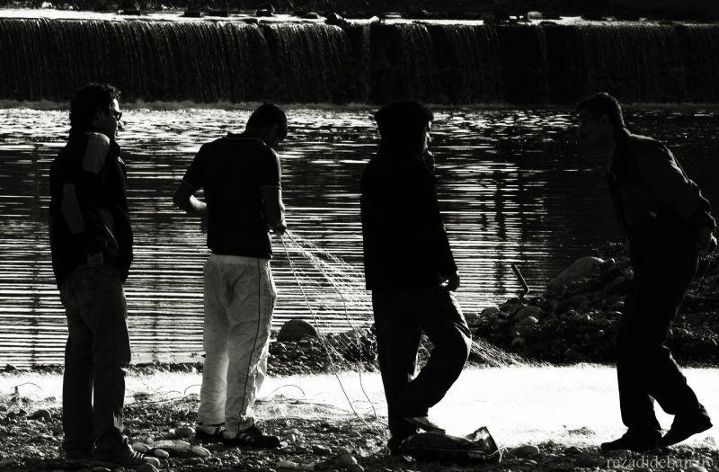 Angler man