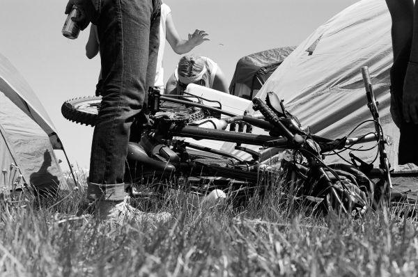 sasquatch; '09. biked in; camp stashed.
