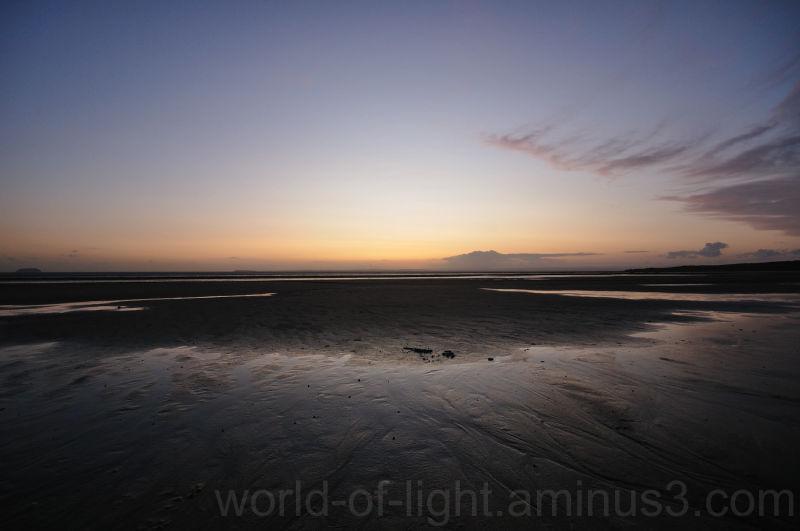 Sunset at Sand Bay