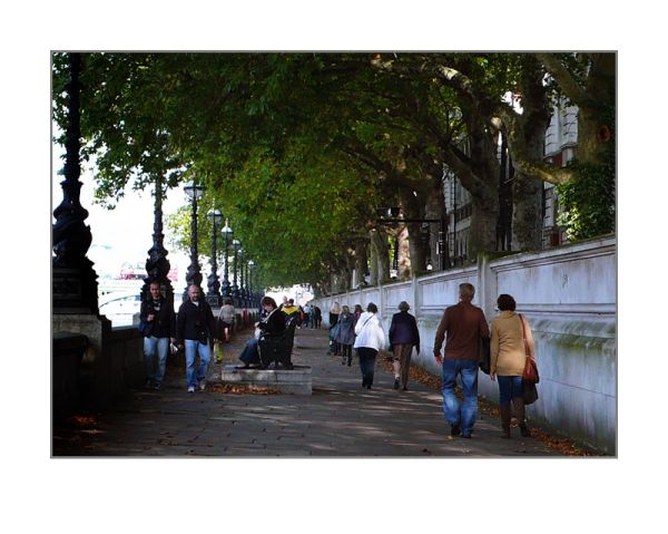 London - embankment
