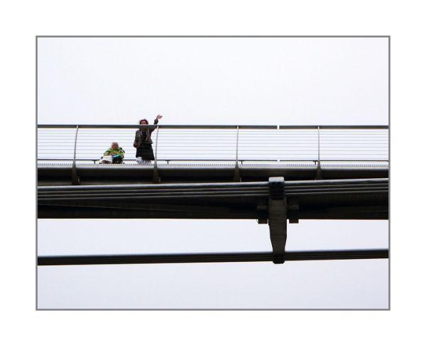 London - millennium bridge