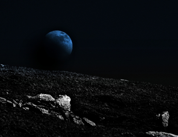 View from the Moon