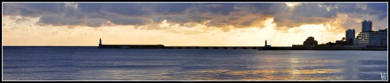 Panorama of les Sables d