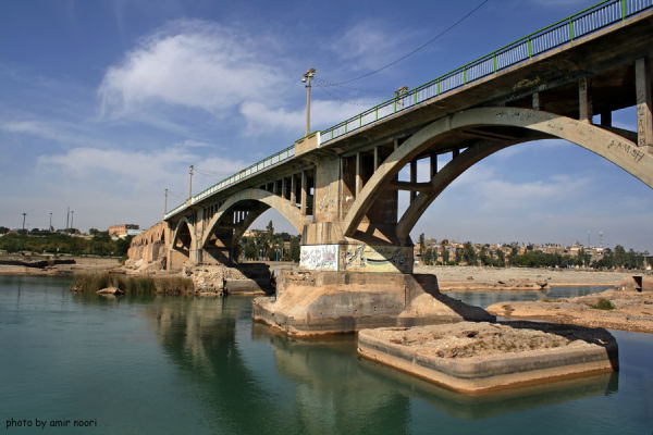 dezfoul old bridge