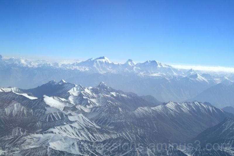 From Leh to Delhi by flight