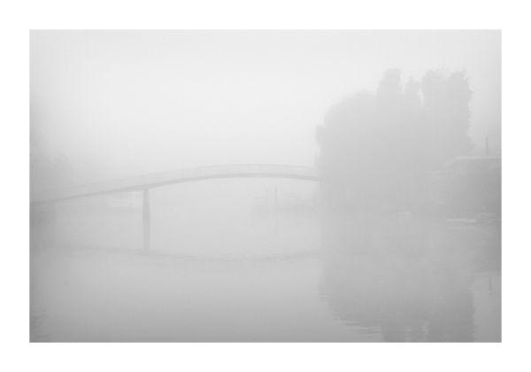 Eel Pie Island in Fog