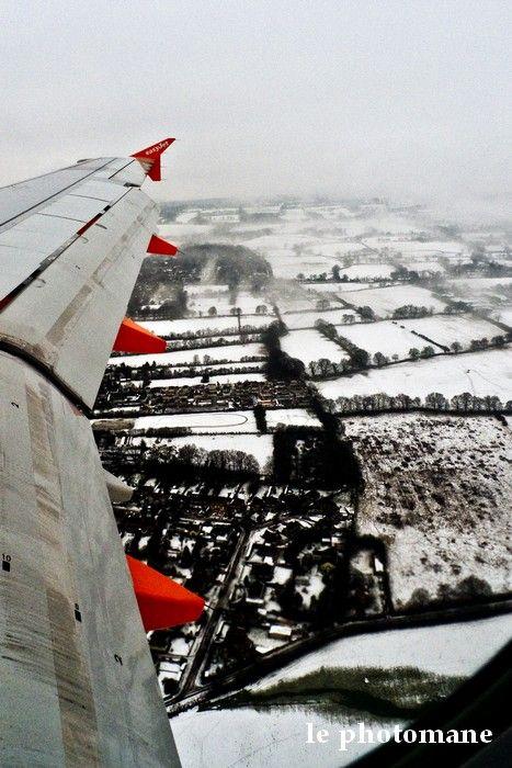 vue d'un avion