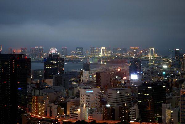 Tokyo Bay from World Trade Center
