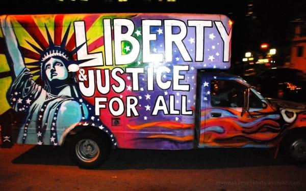 Liberty Van at Occupy Wall Street