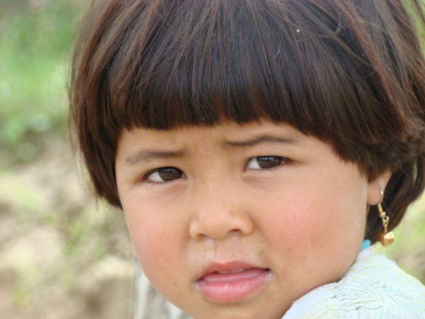 A littel Kunduz Girl
