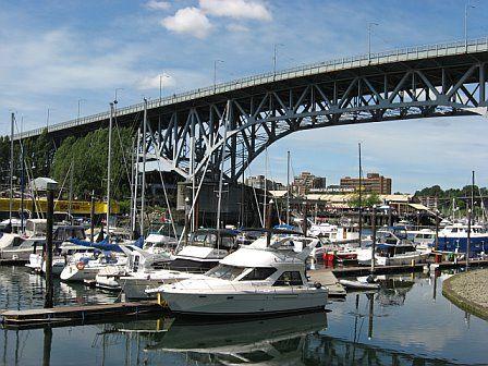 Vancouver, Granville Island, boats