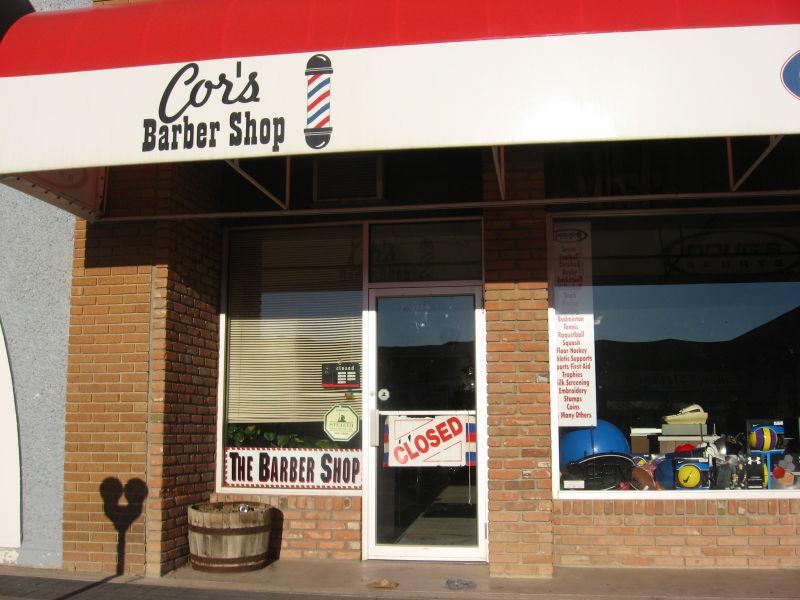 barber shop, small town, alberta, cowboy