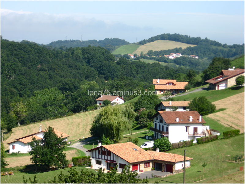 A small village in Basque country, Pyrenees.