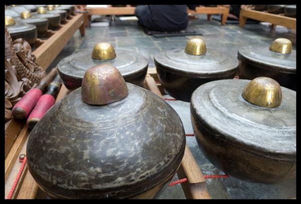 iron and bronze bonang panerus