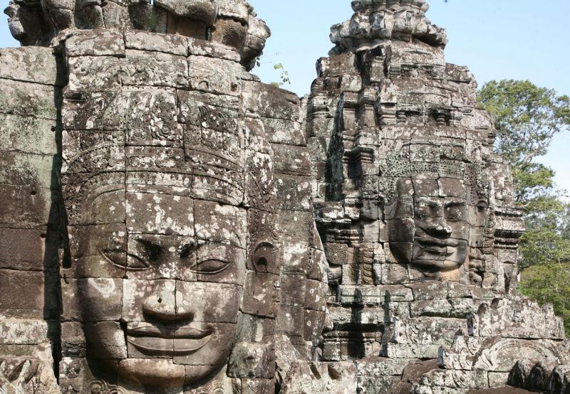 Le Bayon à Angkor