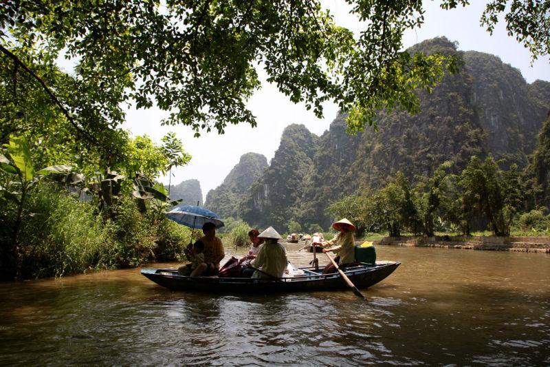 La rivières des 3 Grottes