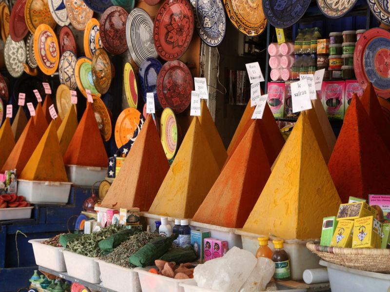 Marché aux épices d'Essaouira