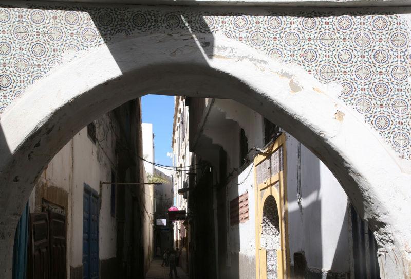 Une rue d'Essaouira