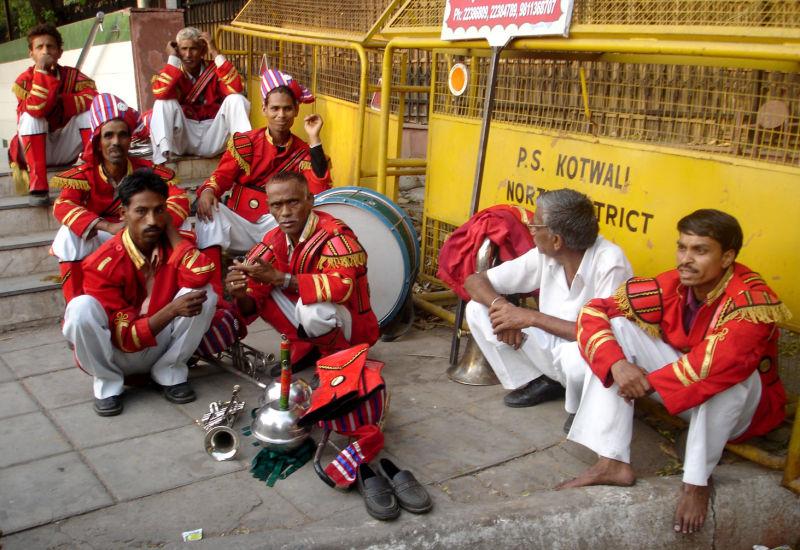 Un orchestre indien