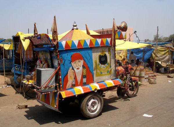 Le marché d'Hyderabad
